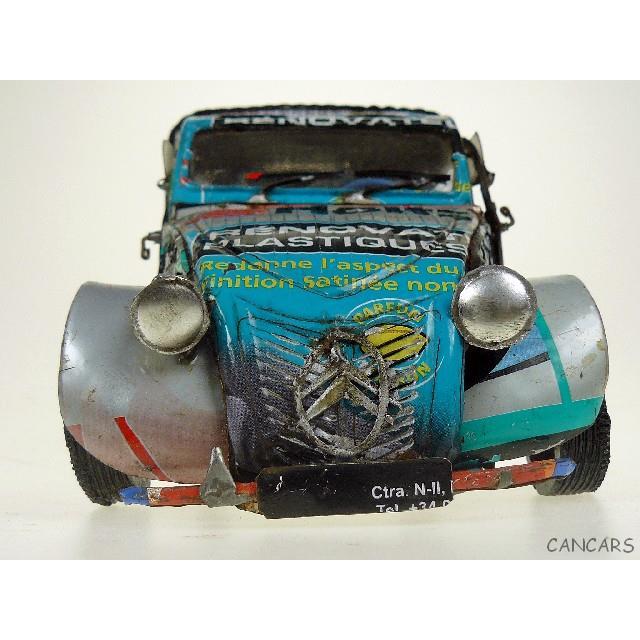 Schnelle Lieferung Citroen 2 Cv Kastenente M 1:18 Blechmodelle Blechspielzeug Antik Modell Can Cars Blechspielzeug