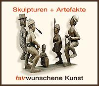 Skulpturen und Artefakte