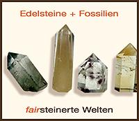 Edelsteine und Fossilien